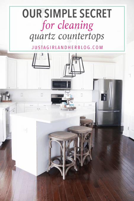 Home Cleaning Quartz Countertops Easy Tips Clean Kitchen Caesarstone London Grey