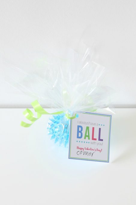 Have a Ball Printable Valentines