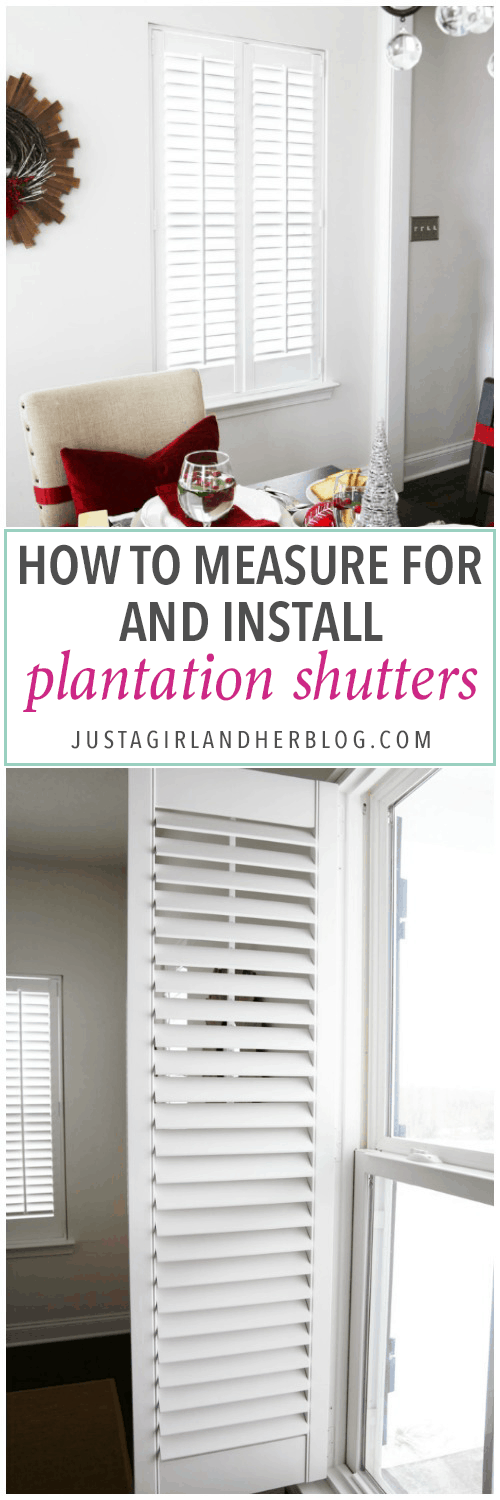 Home Decor, DIY, Plantation Shutters, Wooden Shutters, Shutter Installation,  Shutter Measurements
