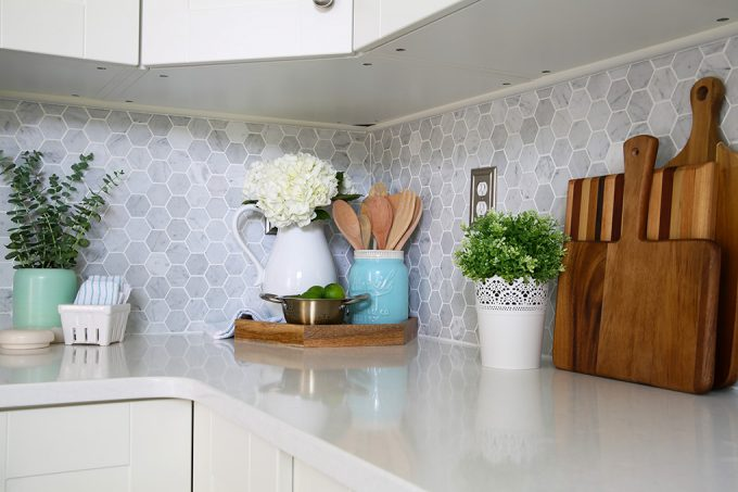 Home  Cleaning Quartz Countertops, Easy Cleaning Tips, Clean Kitchen,  Caesarstone London Grey