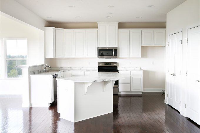 Home decor- kitchen renovation, new countertops, Ryan Homes, Palermo