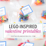 Lego – Inspired Printable Valentines