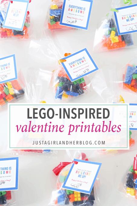 Lego – Inspired Printable Valentines