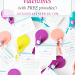 """You're a Hit with Me!"" Free Printable Valentines"
