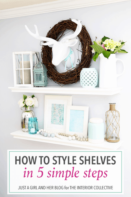 How to Style Shelves in 5 Simple Steps