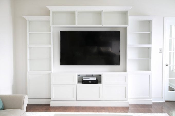 How to Design, Install, and Add Trim to an IKEA BESTA Built-In ...
