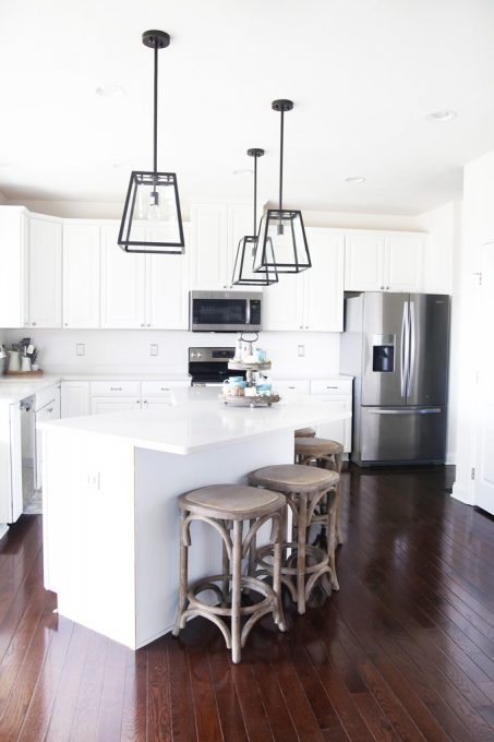 Beautiful And Affordable Kitchen Island Pendant Lights Just A Girl - Images of kitchen pendant lighting
