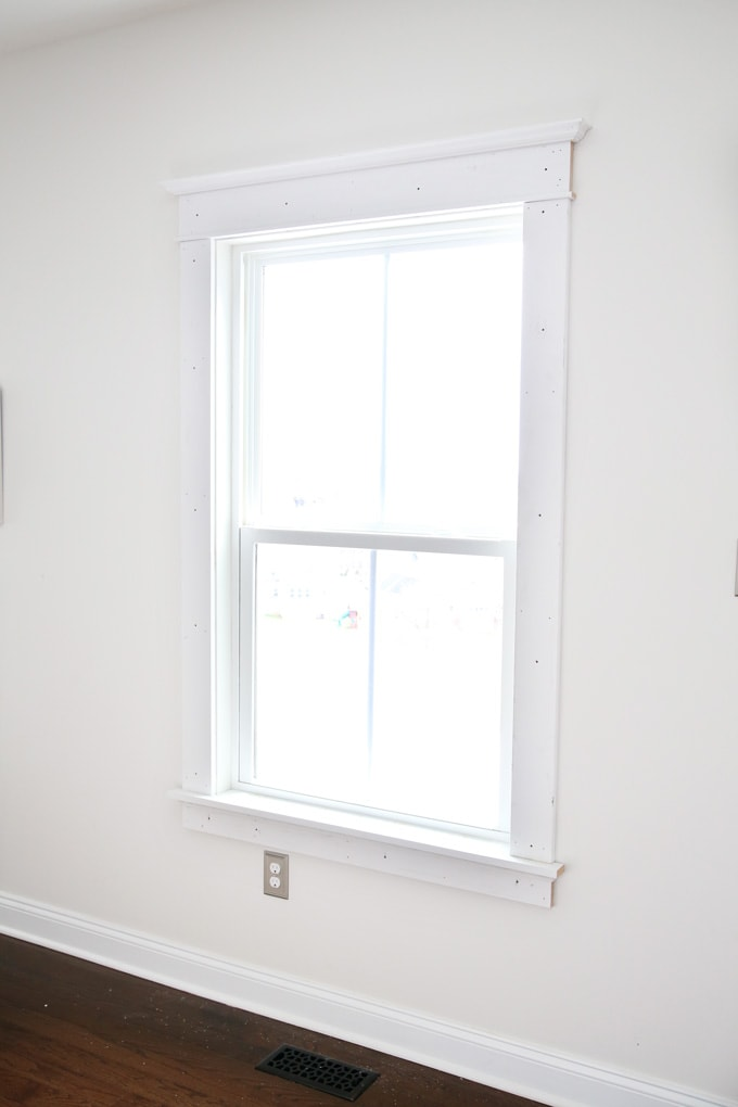 DIY, Home- How to Install Craftsman Style Interior Window Trim, Craftsman Style, DIY Window Trim, Moulding, Window Mouldings, Easy Craftsman Window Trim, WinsorOne Trim, DIY Window Trim Tutorial