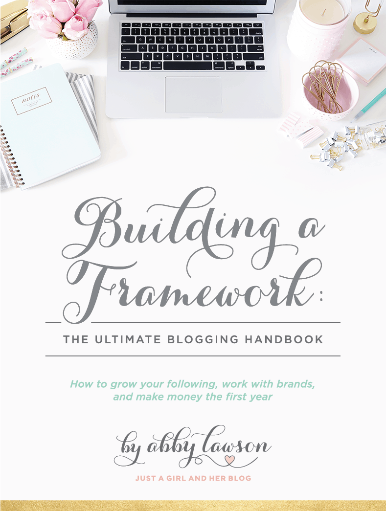 Building a Framework: The Ultimate Blogging Handbook