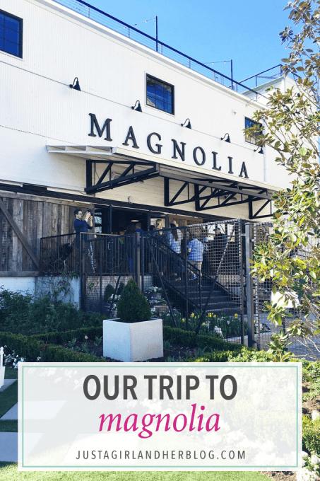 Our Trip to Magnolia!
