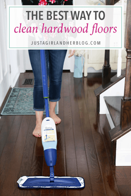 The Best Way To Clean Hardwood Floors Just A Girl And Her Blog Awesome Home Remedies For Cleaning Wood Furniture Creative Remodelling