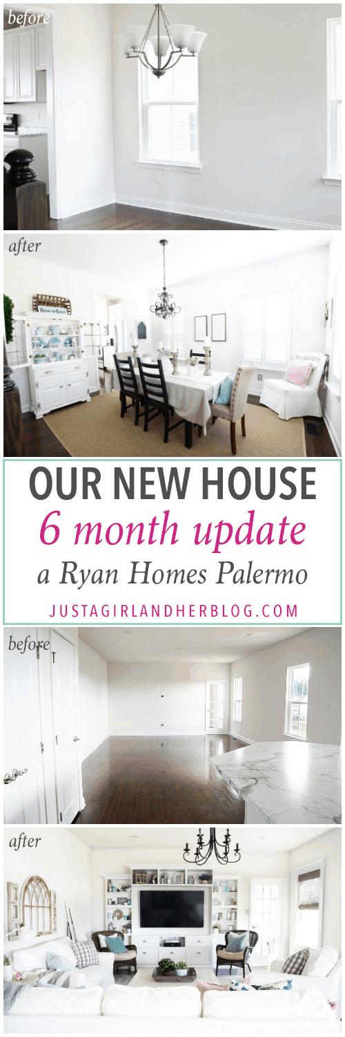 Orchard House 6 Month Progress (Ryan Homes Palermo) - Just a Girl ...