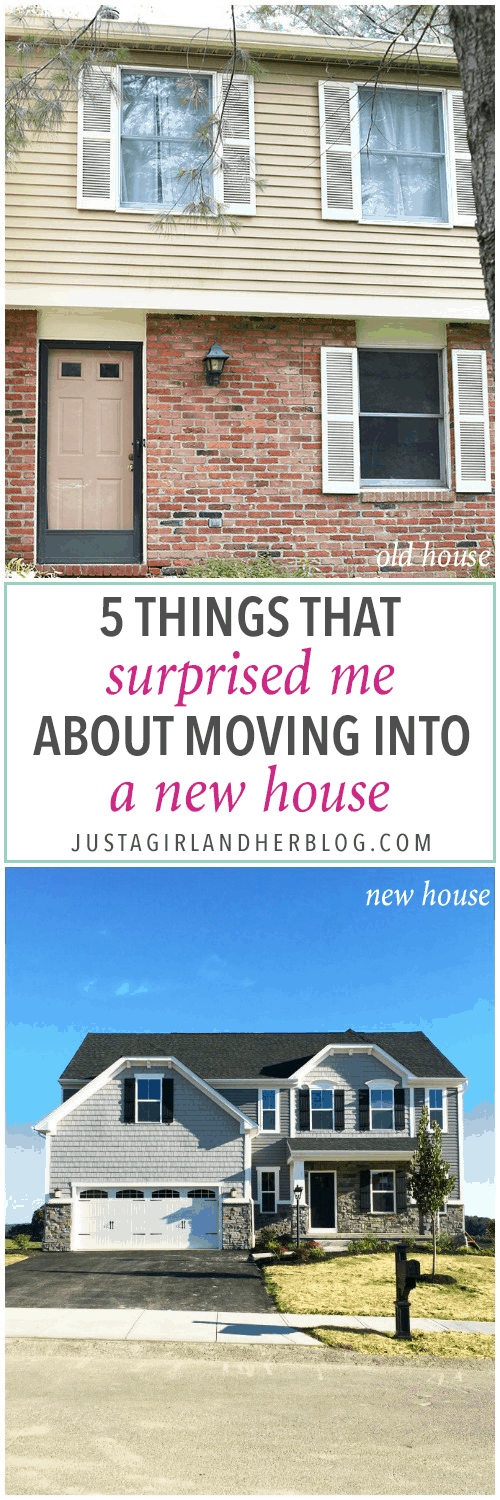 Home- Things that Surprised Me About Moving into a New House, moving, Ryan Homes Palermo, what to expect when you move