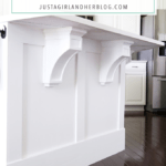 How to Add Custom Trim to a Kitchen Island