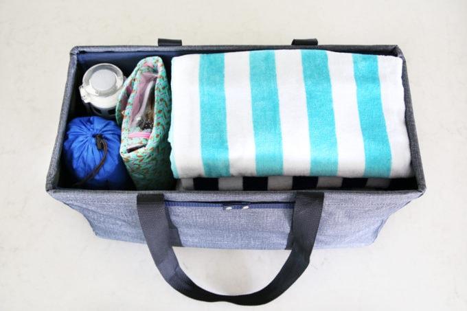 Home Organization Organized Pool Bag Beach Necessities Essentials