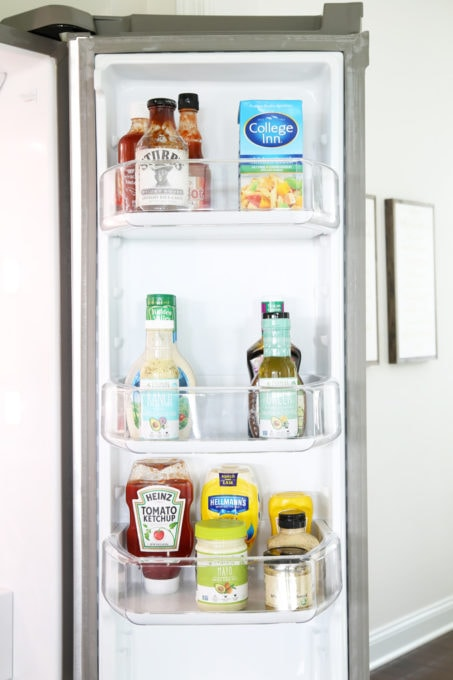 How To Organize The Refrigerator Just A Girl And Her Blog