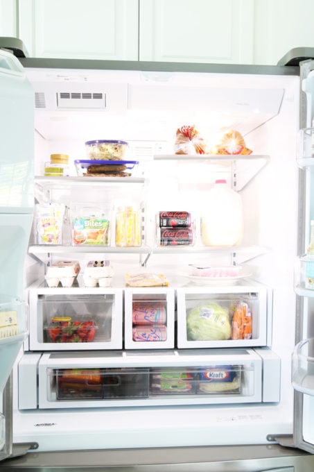 Home Organization- How to Organize the Refrigerator, Fridge Organization, Kitchen Organization, Food Organization, Organized Refrigerator, Freezer Organizing, Organize, How to Get Organized