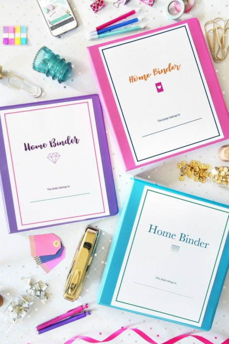 Home Binder Printables to Help Organize Every Area of Your Life