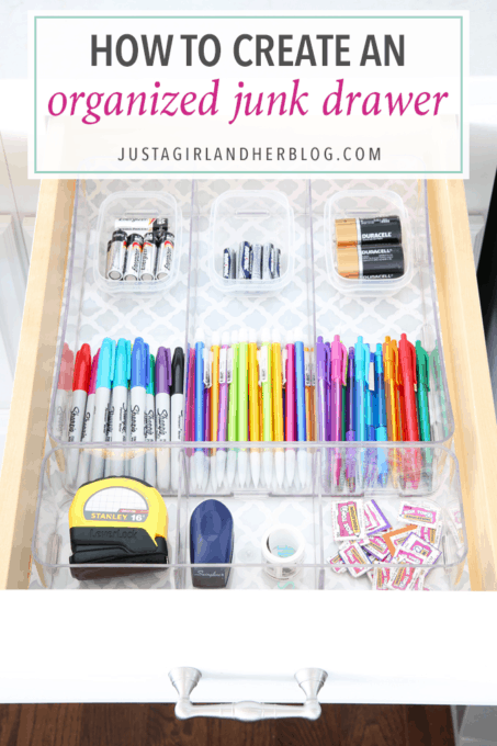 How to Create an Organized Junk Drawer