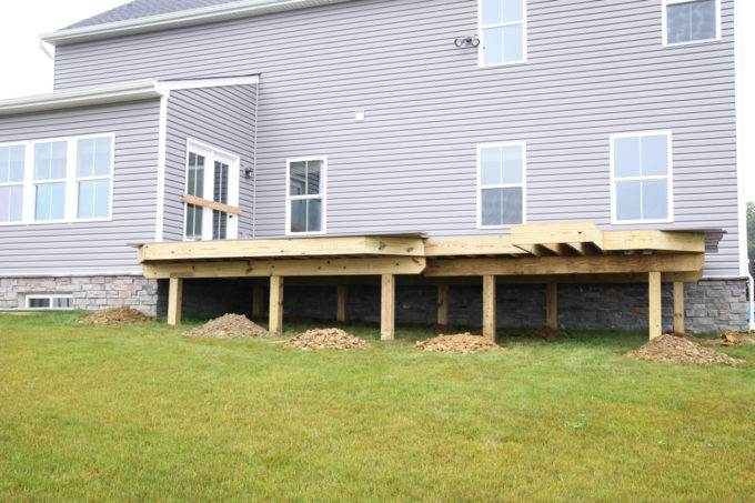 Home- AZEK Decking, AZEK Building Products, Building a Deck, DIY vs. Hiring a Professional, How to Build a Deck, Ryan Homes Palermo, Deck or Patio, Deck Construction