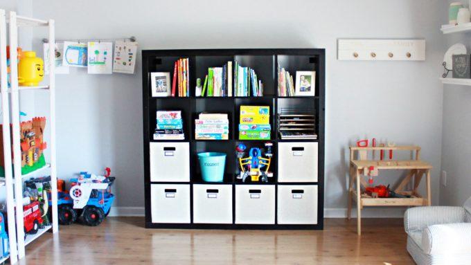 Home Organization- My Top 10 Favorite Organizing Items from IKEA, kitchen organization, craft room organization, office organization, organized, declutter, decluttering, minimalist, minimalism, KALLAX Storage Unit