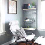 An Organized + Masculine Home Office: Reveal!