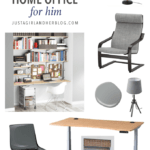 Planning a Masculine and Organized Home Office