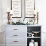 DIY Dresser to Sideboard Buffet Makeover