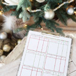 5 Free Printables to Help You Get Organized for the Holidays