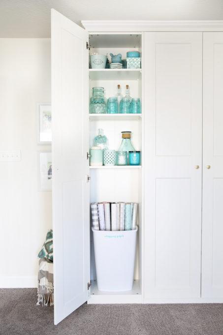 installing ikea cabinet