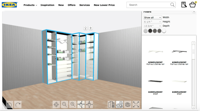 Home- Creating Built In Office Storage with the IKEA PAX system, organized office, home office organization, PAX wardrobe with GRIMO doors as office storage, how to design and install the IKEA PAX system, IKEA PAX planner