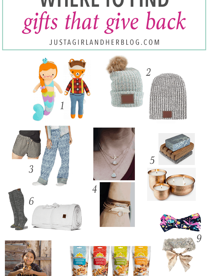 Holiday & Party- Where to Find Gifts That Give Back, gift guide, fair trade, helping those in need, Christmas gift ideas, ethical gifts, holiday gift ideas, presents for kids, gift ideas for her, gifts for him, help the needy