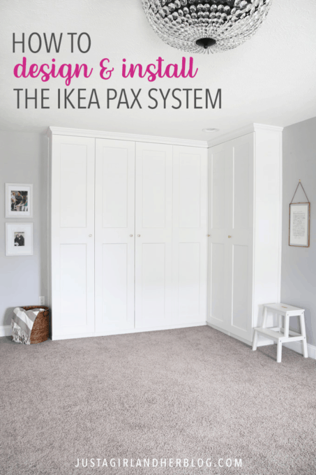How to Design and Install the IKEA PAX System