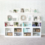 How to Create Home Office Storage with the IKEA BESTA System
