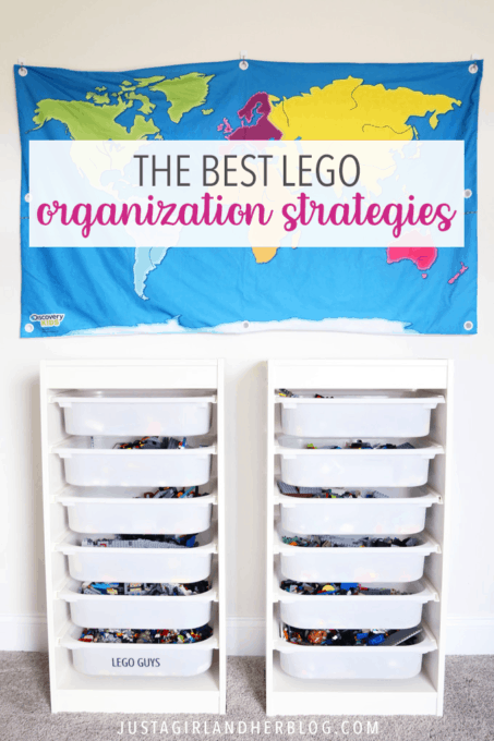 The Best LEGO Organization Strategies