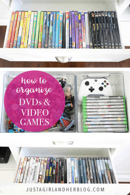How to Organize DVDs and Video Games