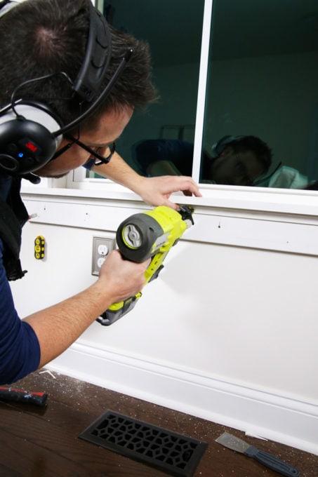 Installing Craftsman Style Window Trim