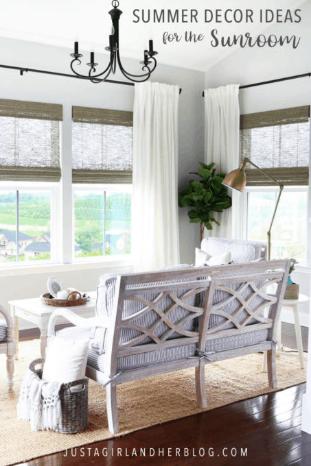 Summer Decor Ideas for the Sunroom
