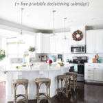 The Easiest Way to Declutter the Kitchen (with Free Printable Decluttering Calendar!)