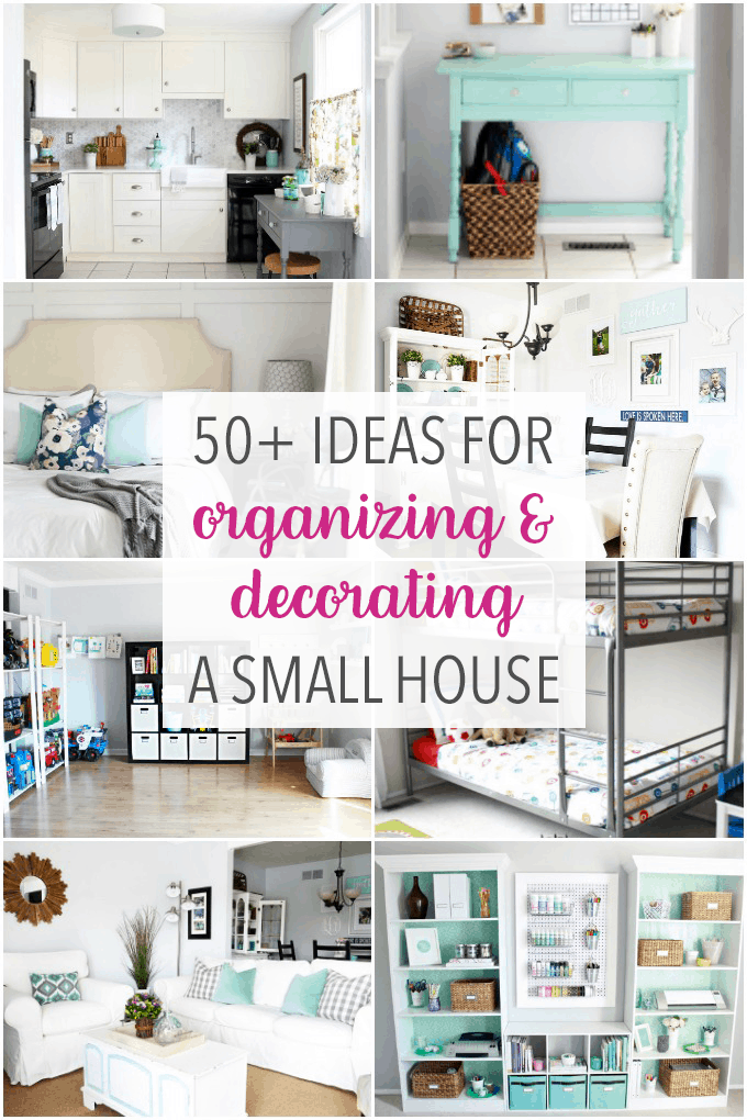 50+ Ideas for Organizing and Decorating a Small House, Townhouse ...