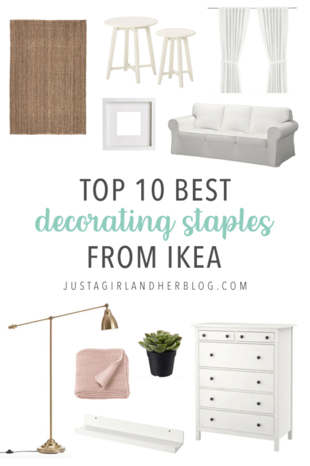 Top 10 Best Decorating Staples from IKEA | Abby Lawson