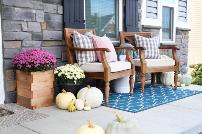 Non-Traditional Colors for Fall Decor