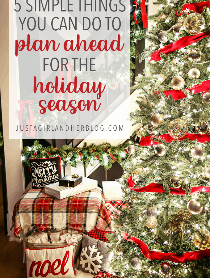 5 Simple Things You Can Do to Plan Ahead for the Holiday Season Christmas