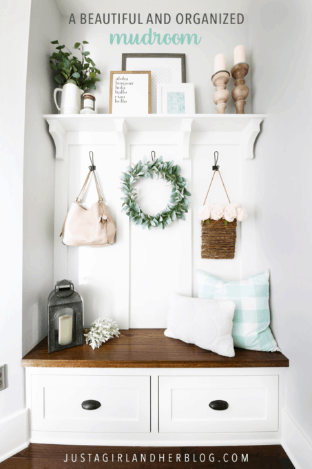Organize Your Mudroom Furniture A Beautiful and Organized Mudroom Reveal