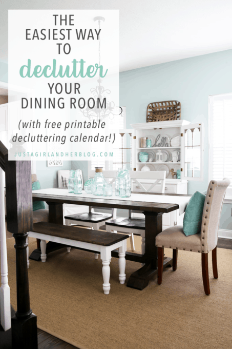 The Easiest Way to Declutter Your Dining Room