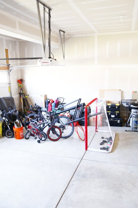Tidy Garage, Lacking Storage