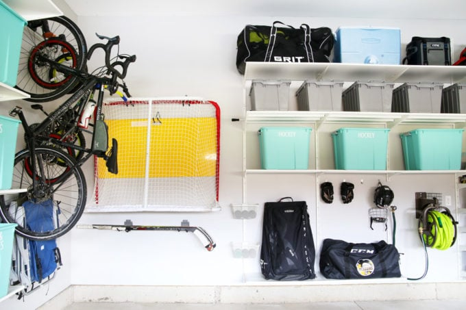 How to Organize Hockey Gear in the Garage