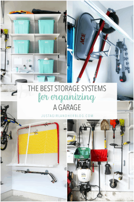 The Best Storage Systems for Organizing a Garage
