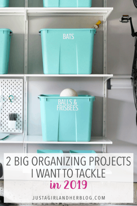 2 Big Organizing Projects I Want to Tackle in 2019