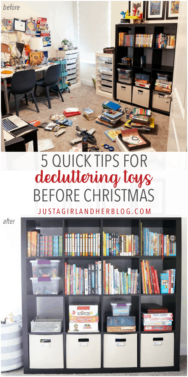 5 Quick Tips for Decluttering Toys Before Christmas